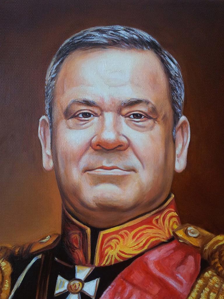 Портрет маслом на холсте в Брянске