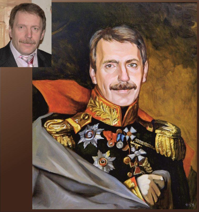 Настоящий портрет маслом на заказ в Брянске…