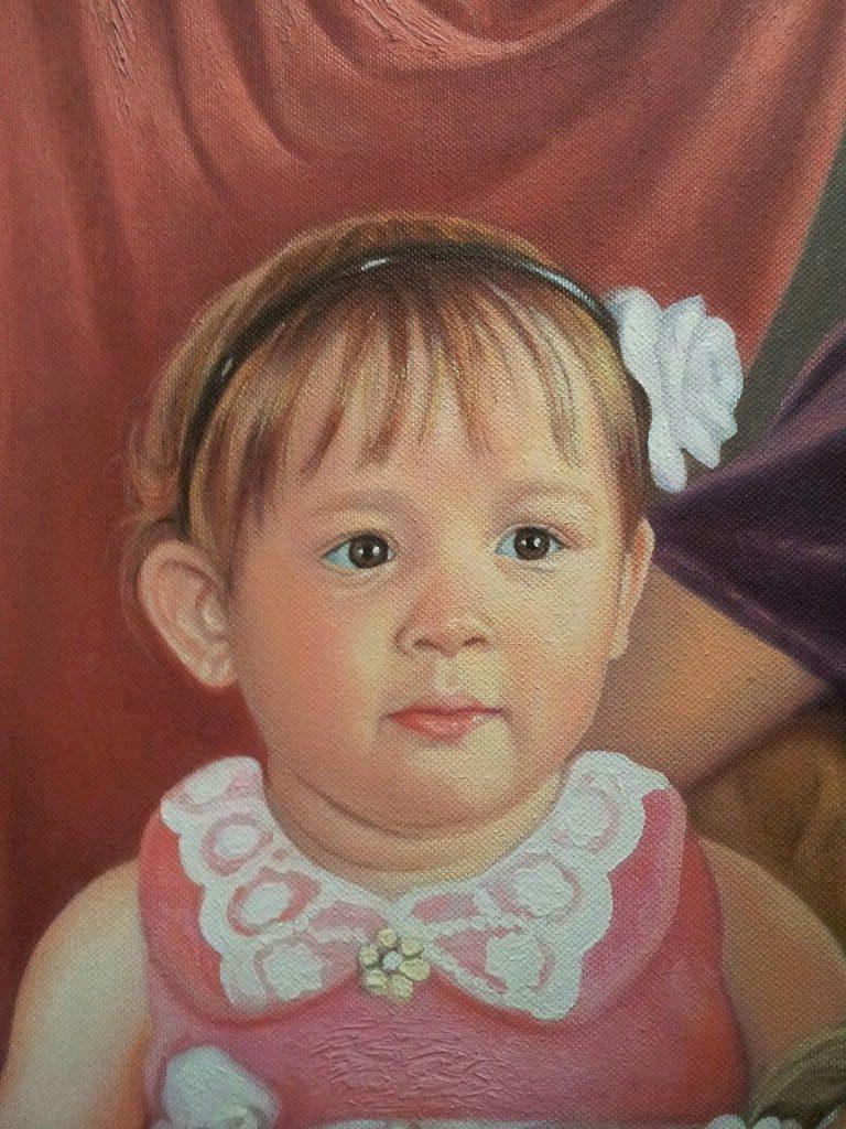 Портрет маслом семейный Брянск