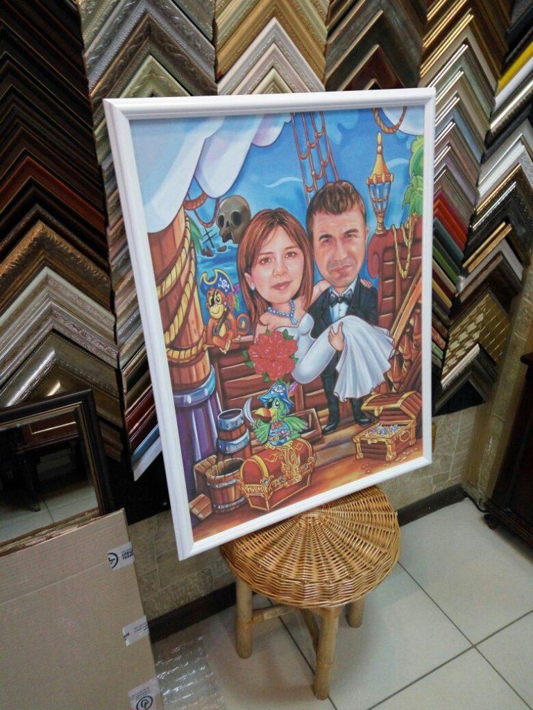 Заказать печать фото на холсте в Брянске