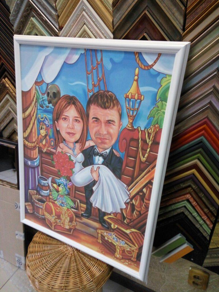 шарж по фото на заказ в Брянске