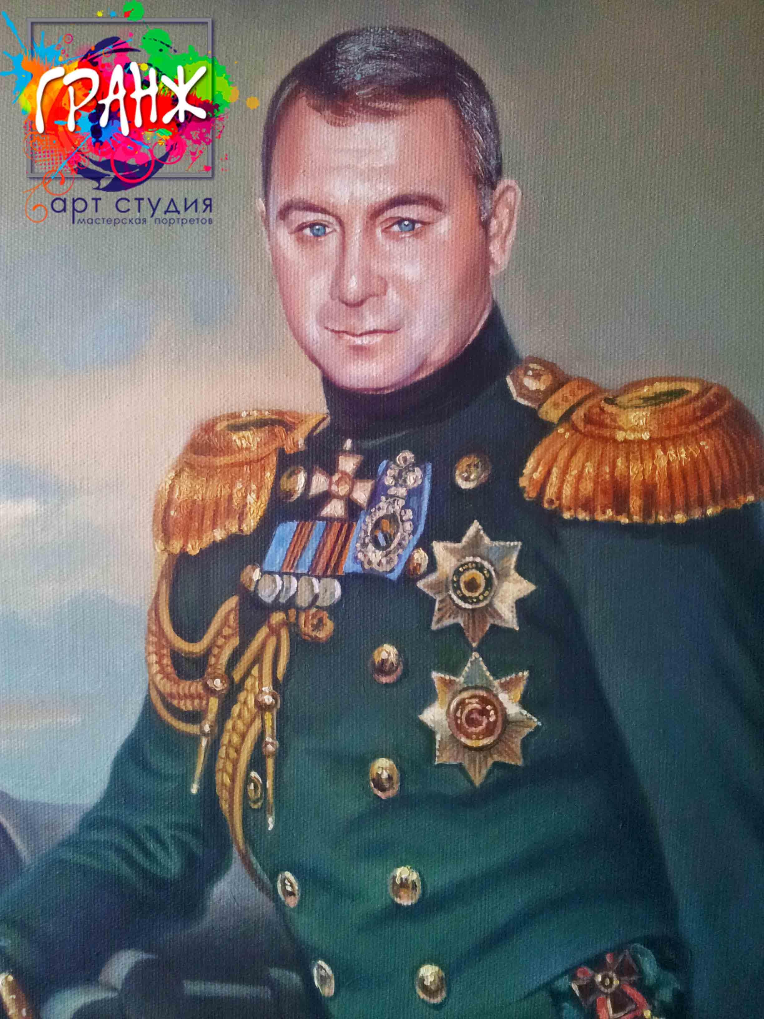 Заказать портрет маслом в Брянске