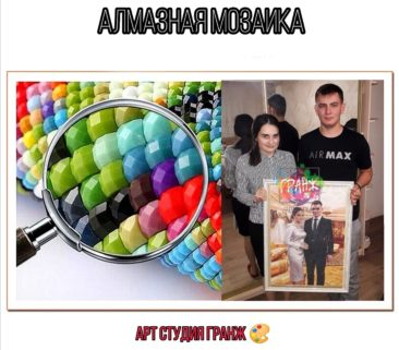 Алмазная мозаика по фото заказать в Брянске